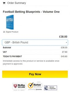 Football betting blueprints review extra income guru even with the current football betting blueprints discount you will be paying more than 38 our final determination of the price malvernweather Choice Image
