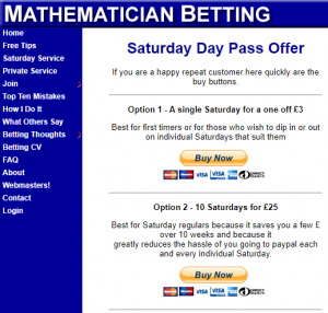 Mathematician Betting Cost