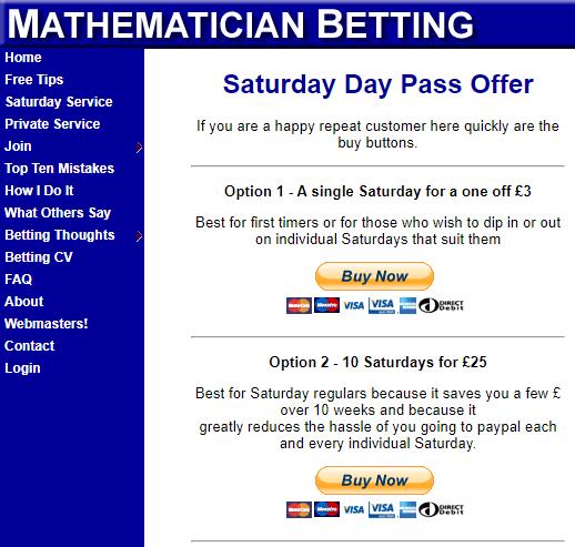 Mathematician Betting Cost