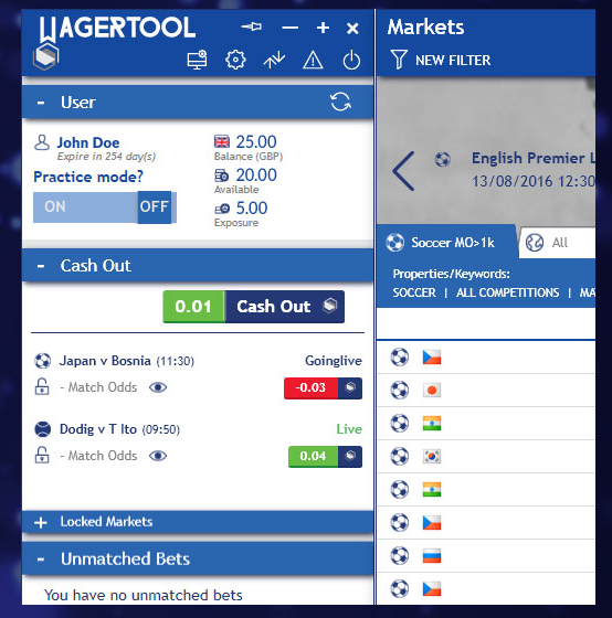 Wagertool Review Demo