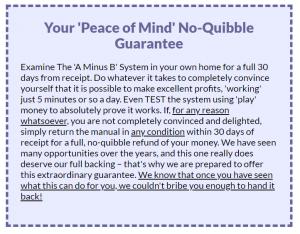 A-Minus-B-guarantee
