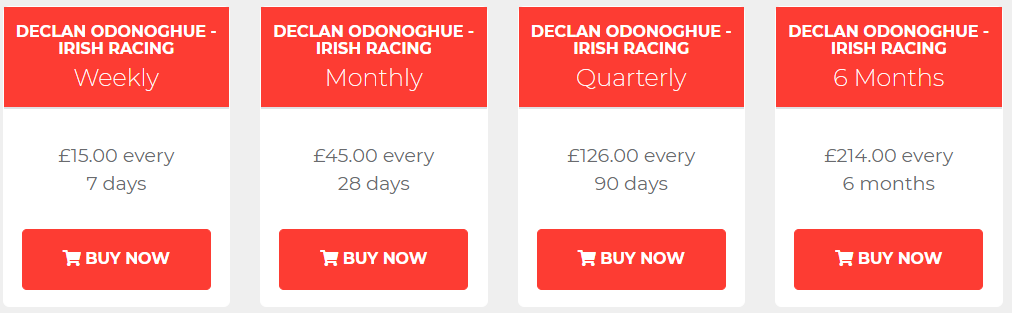 Declan ODonoghue Review Prices