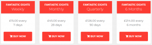 Fantastic Eights Review Prices
