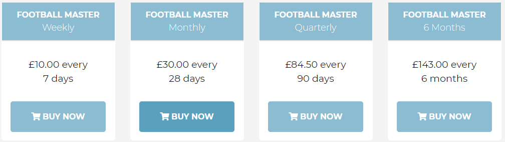 Football Master Review Prices