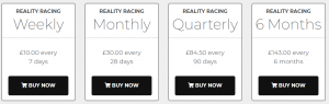 Reality Racing Review Prices