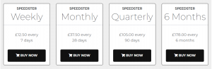 Speedster Review Prices