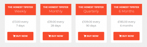 The Honest Tipster Review Prices